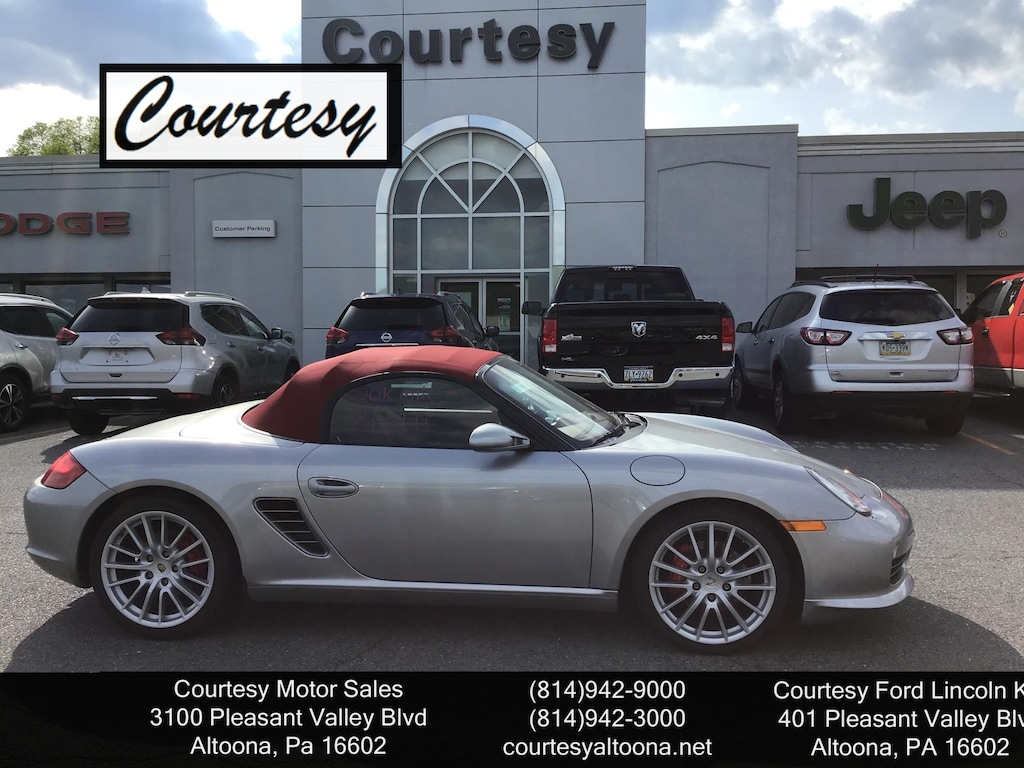 Boxster For Sale >> Used 2008 Porsche Boxster For Sale Altoona Pa Vin Wp0cb29828u731237