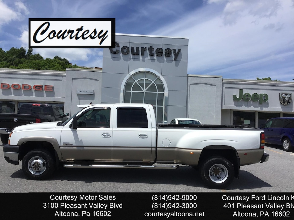 Used 2006 Chevrolet Silverado 3500 For Sale | Altoona PA | VIN#  1GCJK33D16F161591