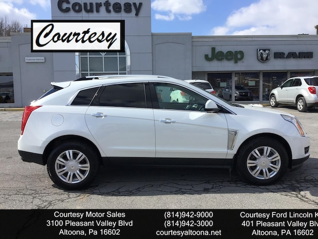 Used 2016 Cadillac SRX Luxury Collection SUV For Sale Altoona, PA