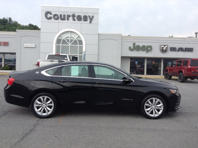 Used 2017 Chevrolet Impala LT Sedan For Sale Altoona, PA