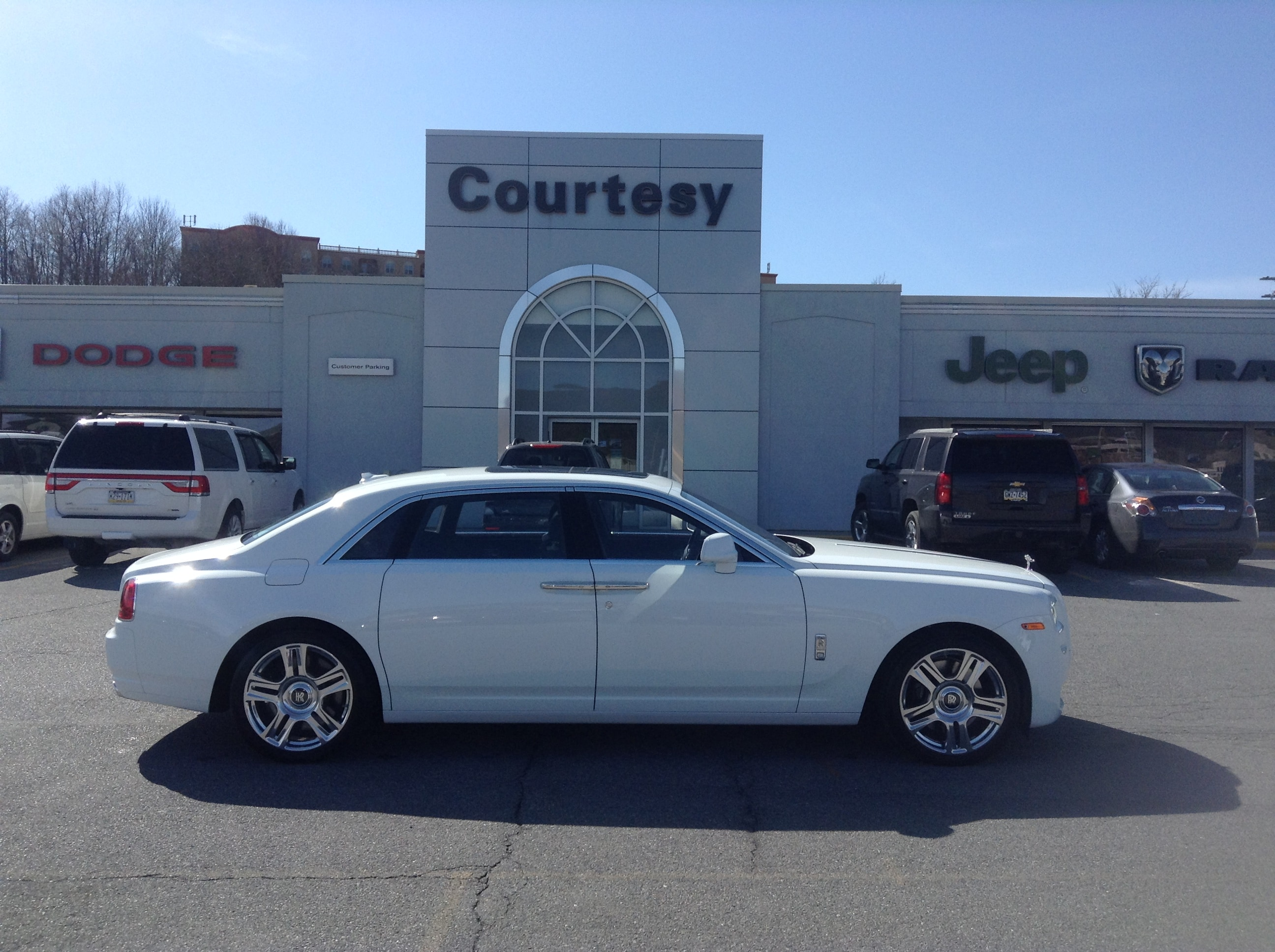 Used 2015 Rolls Royce Ghost Ext Sdn Rf For Sale At Courtesy Kia Vin Sca664l57fux66422
