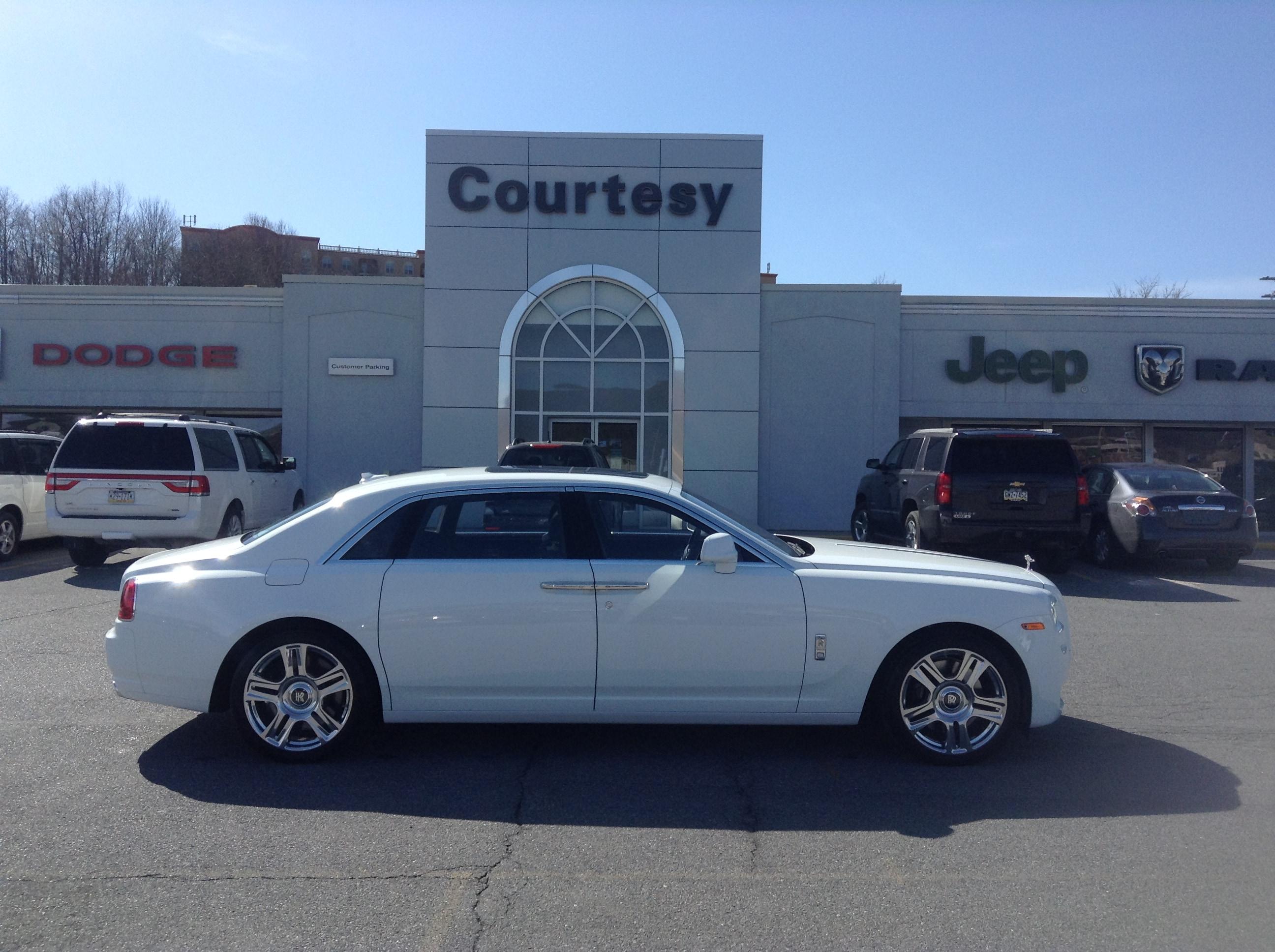 2015 Rolls-Royce Ghost EXT SDN RF Sedan