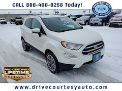 New 2020 Ford EcoSport Titanium SUV for sale in Thorp, WI