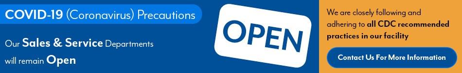 Were Open!