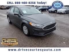 New 2020 Ford Fusion S Sedan for sale in Thorp, WI