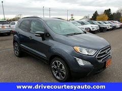 New 2018 Ford EcoSport SE SUV 38257T for sale in Thorp, WI