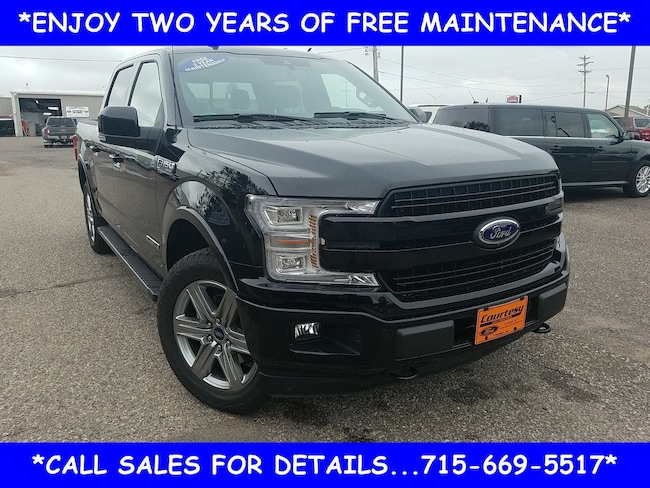 2018 Ford F-150 Lariat Truck SuperCrew Cab For sale near Cadott WI