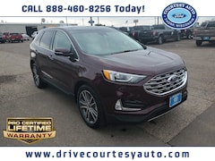 New 2020 Ford Edge Titanium SUV for sale in Thorp, WI