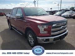 Used 2015 Ford F-150 Lariat Truck SuperCrew Cab For sale near Cadott WI