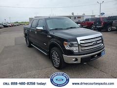 Used 2013 Ford F-150 Lariat Truck SuperCrew Cab For sale near Cadott WI