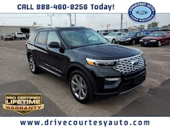 New 2020 Ford Explorer Platinum SUV for sale in Thorp, WI
