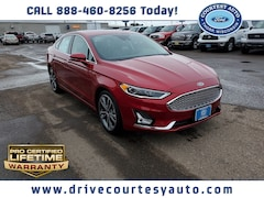 New 2020 Ford Fusion Titanium Sedan for sale in Thorp, WI