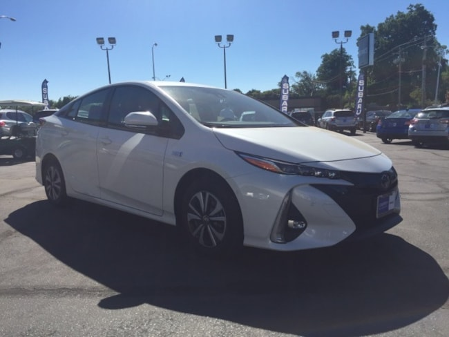 Used 2017 Toyota Prius Prime Advanced Hatchback for sale in Chico, CA