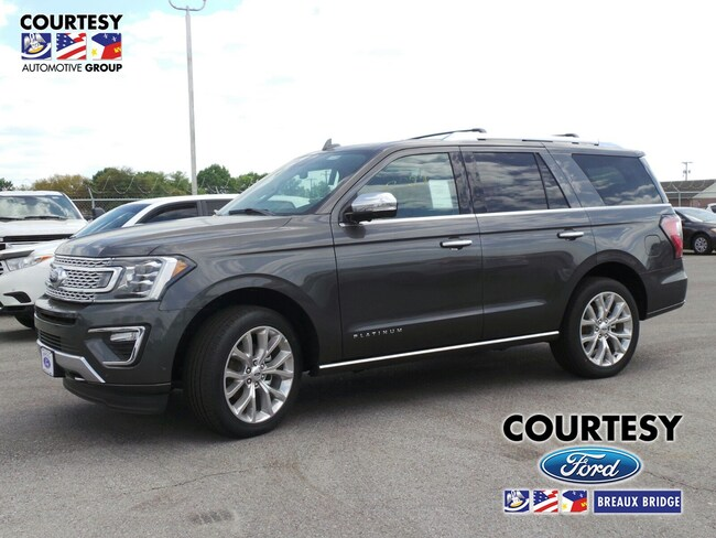 New 2019 Ford Expedition Platinum in Breaux Bridge