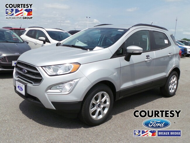 New 2019 Ford EcoSport SE in Breaux Bridge