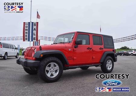 2015 Jeep Wrangler Unlimited Sport 4x4 SUV for Sale in Breaux Bridge, LA
