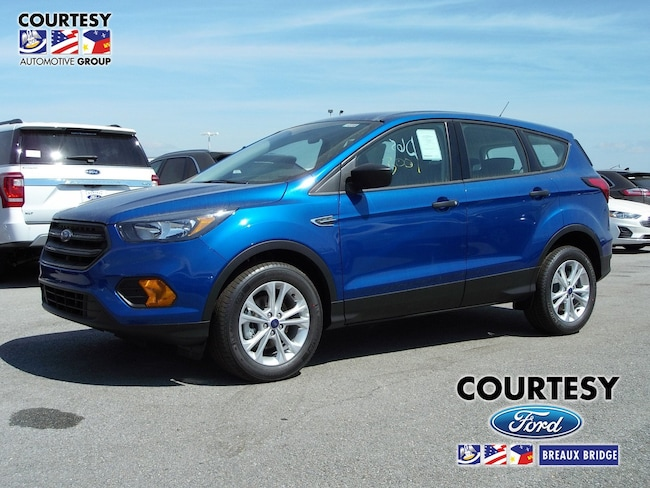 New 2019 Ford Escape S in Breaux Bridge