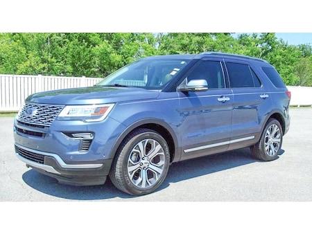 2018 Ford Explorer Platinum Sport Utility for Sale in Breaux Bridge, LA