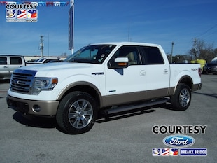2014 Ford F-150 Lariat Lariat 4WD SuperCrew 145
