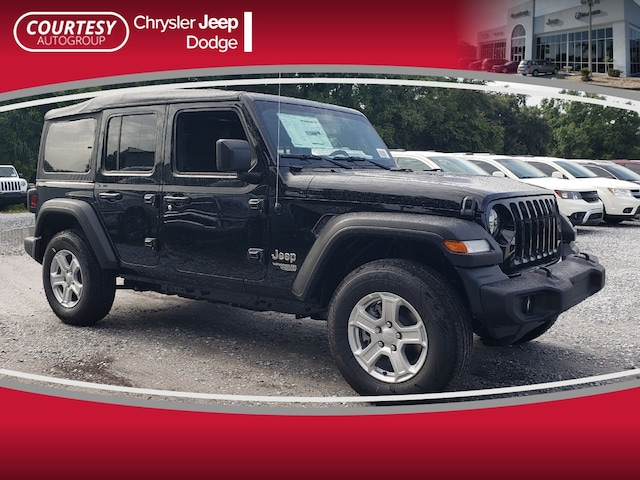 Courtesy Chrysler Jeep Dodge >> New 2019 Jeep Wrangler Unlimited Sport S 4x4 For Sale Tampa Fl