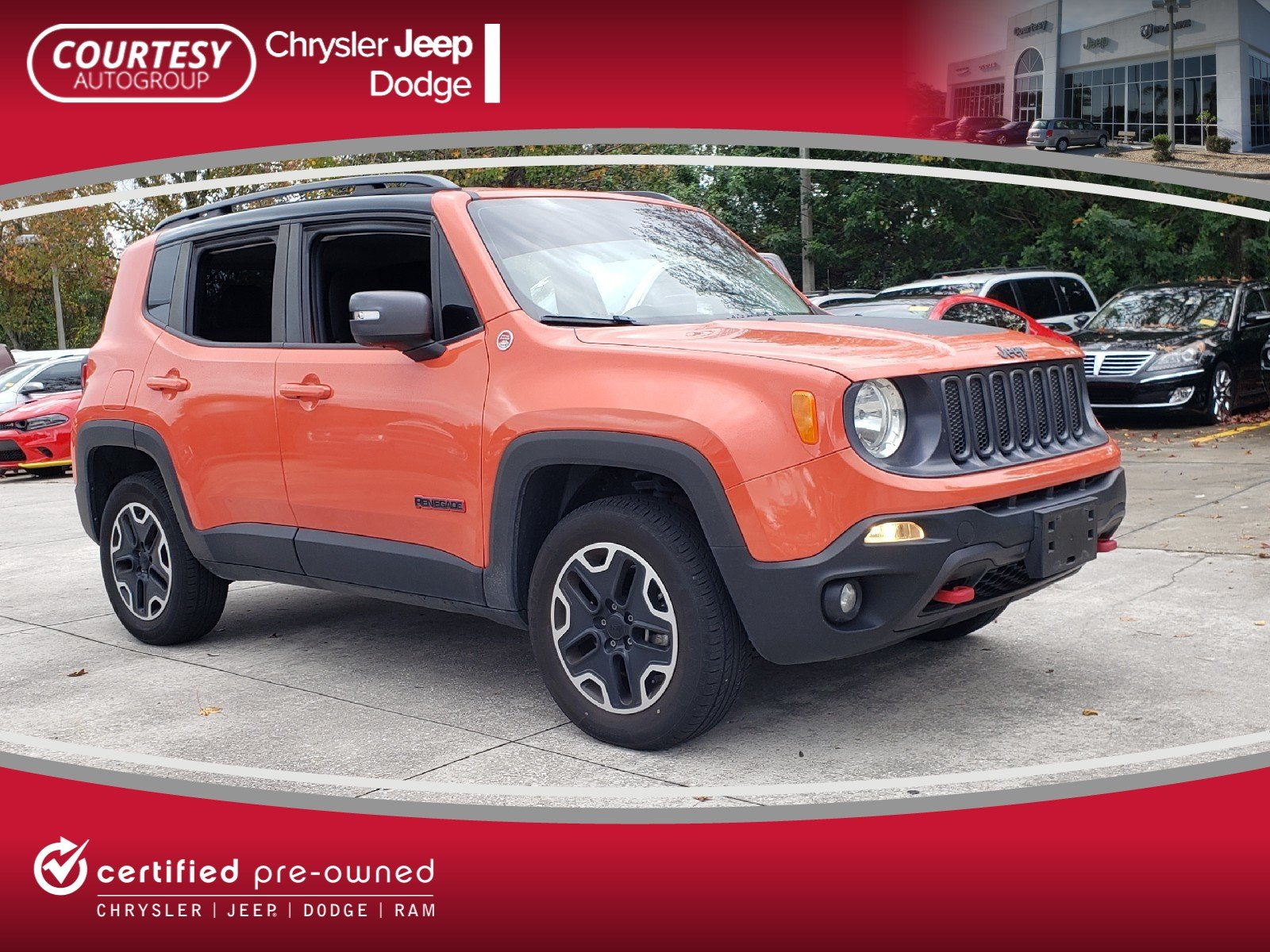 2015 Jeep Renegade Trailhawk 4WD  Trailhawk