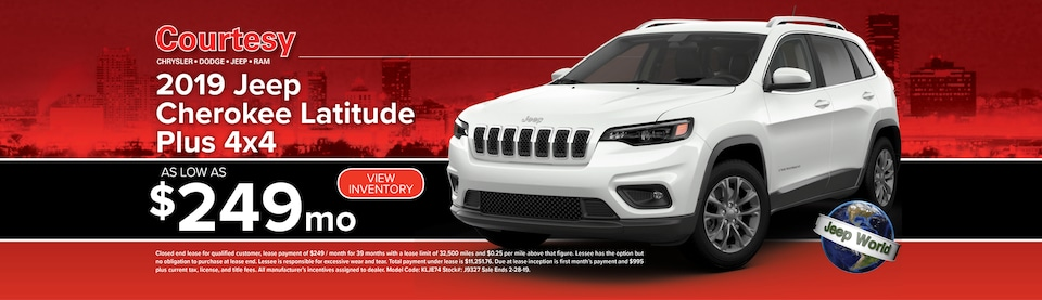 February Cherokee Lease Special