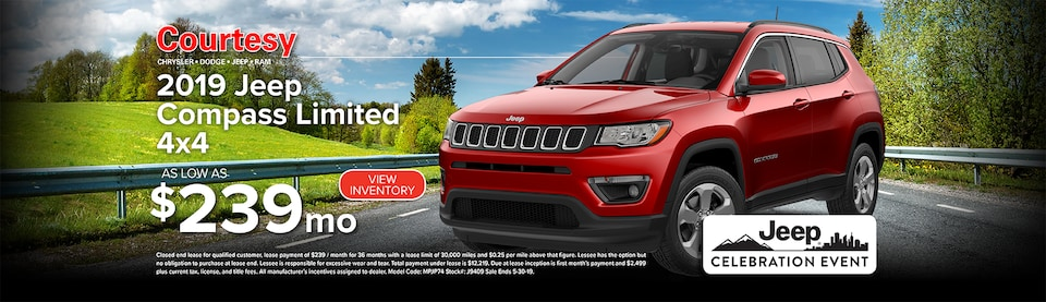 May Jeep Compass Lease Special