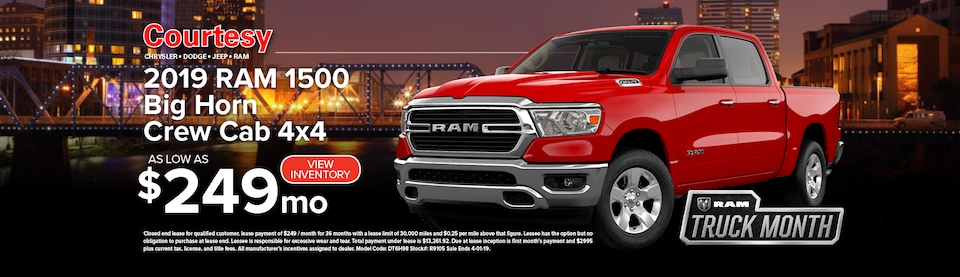 March RAM 1500 Lease Special