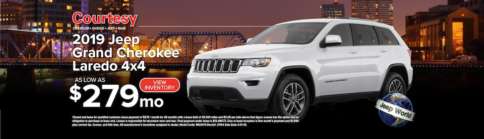 March Grand Cherokee Lease Special