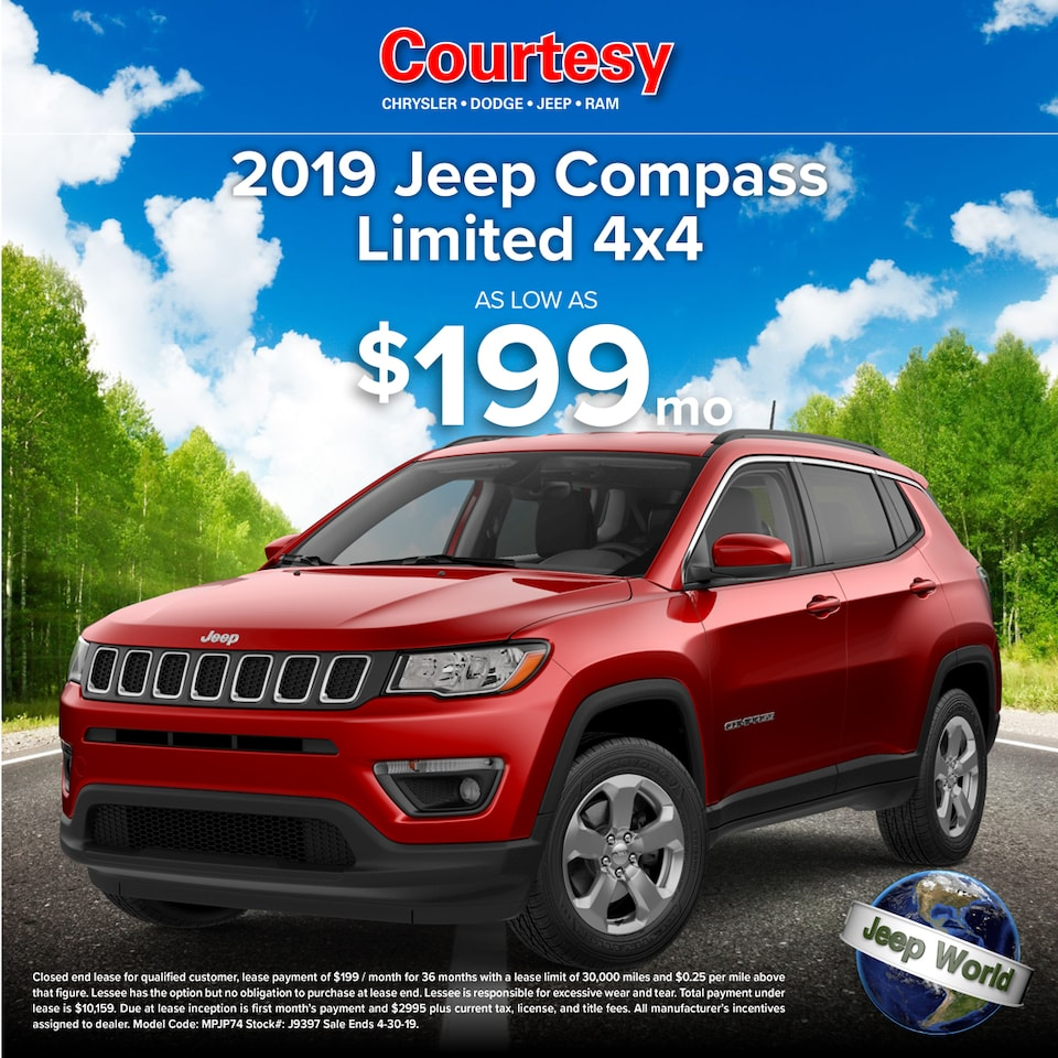 April Compass Lease Special