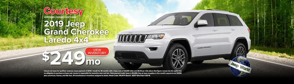 April Grand Cherokee Lease Special