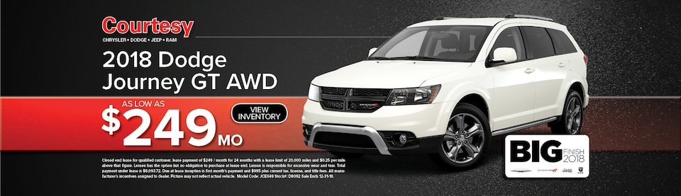 Dodge Journey Lease Special