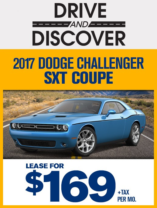 Delightful Lease The 2017 Dodge Challenger SXT Coupe For Only $169 Per Month
