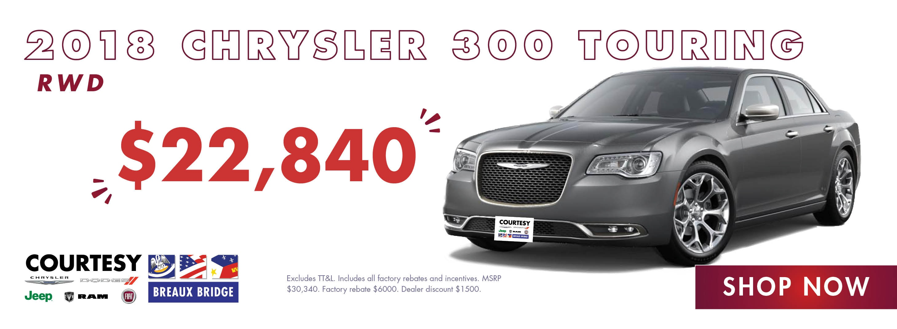 Jeep Dealership Baton Rouge >> Courtesy Chrysler Dodge Jeep RAM FIAT | Breaux Bridge, LA ...