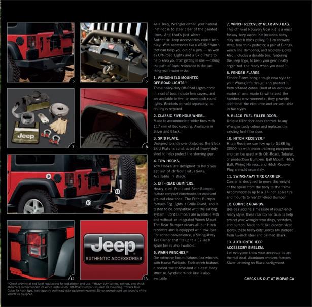 2012 Jeep Wrangler Courtesy Chrysler