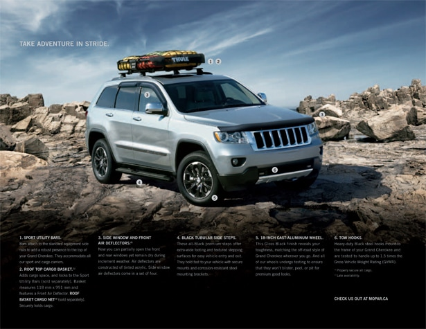 2012 jeep grand cherokee accessories courtesy chrysler. Black Bedroom Furniture Sets. Home Design Ideas