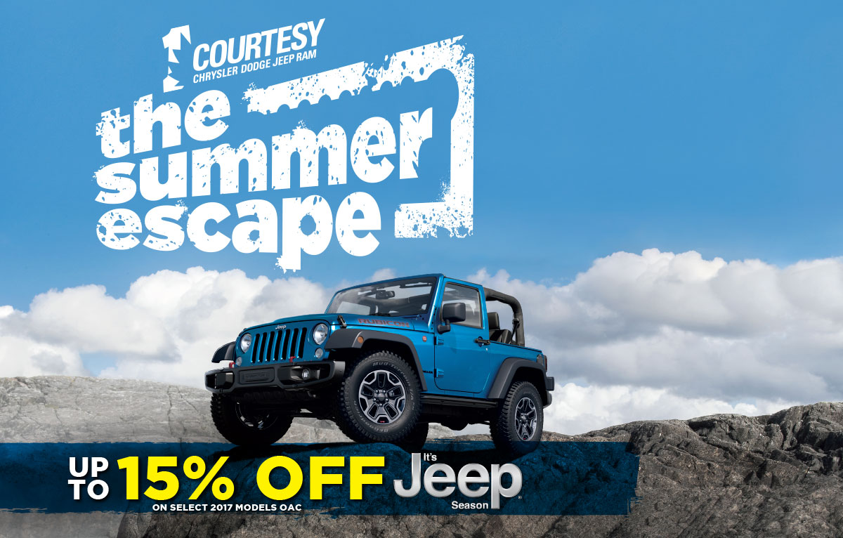 Delightful The Summer Escape   Up To 26% Off Jeep ...