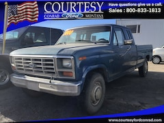 1985 Ford F-250 Extended Cab Long Bed Truck