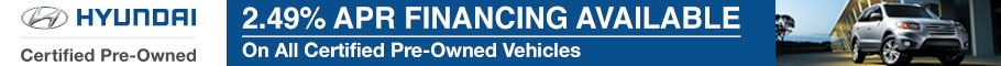 Hyundai Certified Pre Owned APR Financing Offer in Tampa