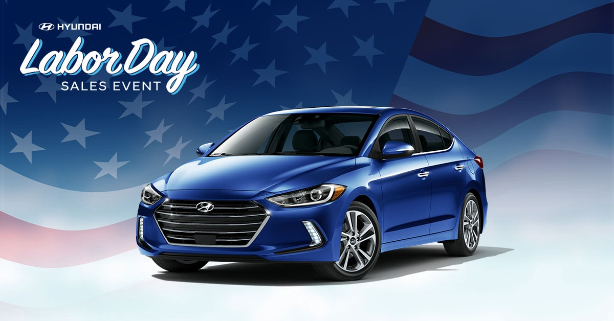 Labor Day Sales Event Courtesy Hyundai Of Tampa