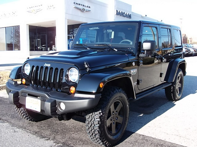Jeep Wrangler Call Of Duty Black Ops Edition Mw3 Darcars Chrysler