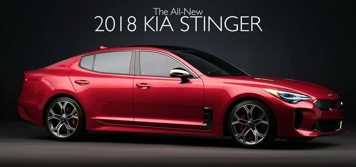 2018 Kia Stinger | 2018 Kia Stinger & Kia Stinger GT for Sale