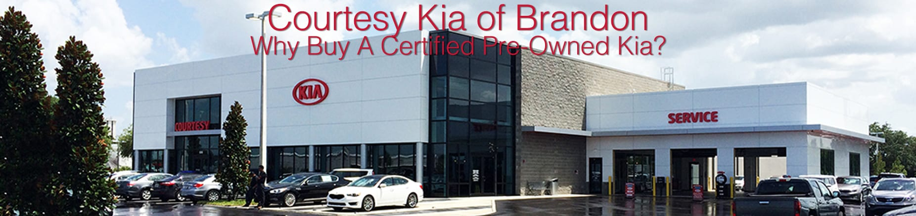 Courtesy Kia of Brandon Near Tampa Certified Pre-Owned