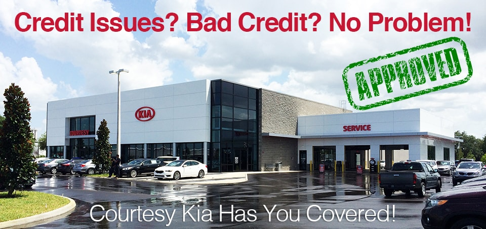 Bad Credit, No Problem at Courtesy Kia of Brandon