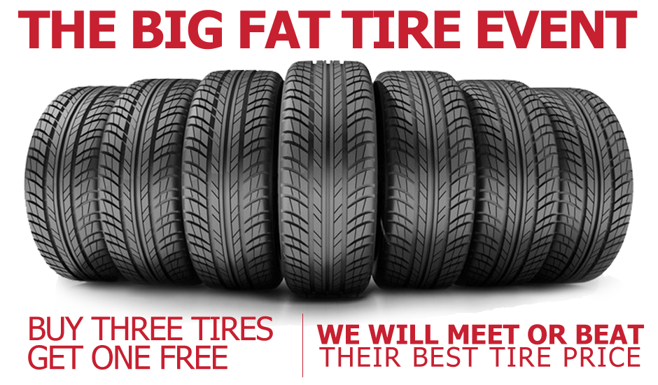 Buy 3 and get the 4th Free on in stock Nexen CP Tires. BUT WAIT THERE'S MORE!!!! Recieve a $50 mail-in rebate when you use your Tire Discounters Credit Card!