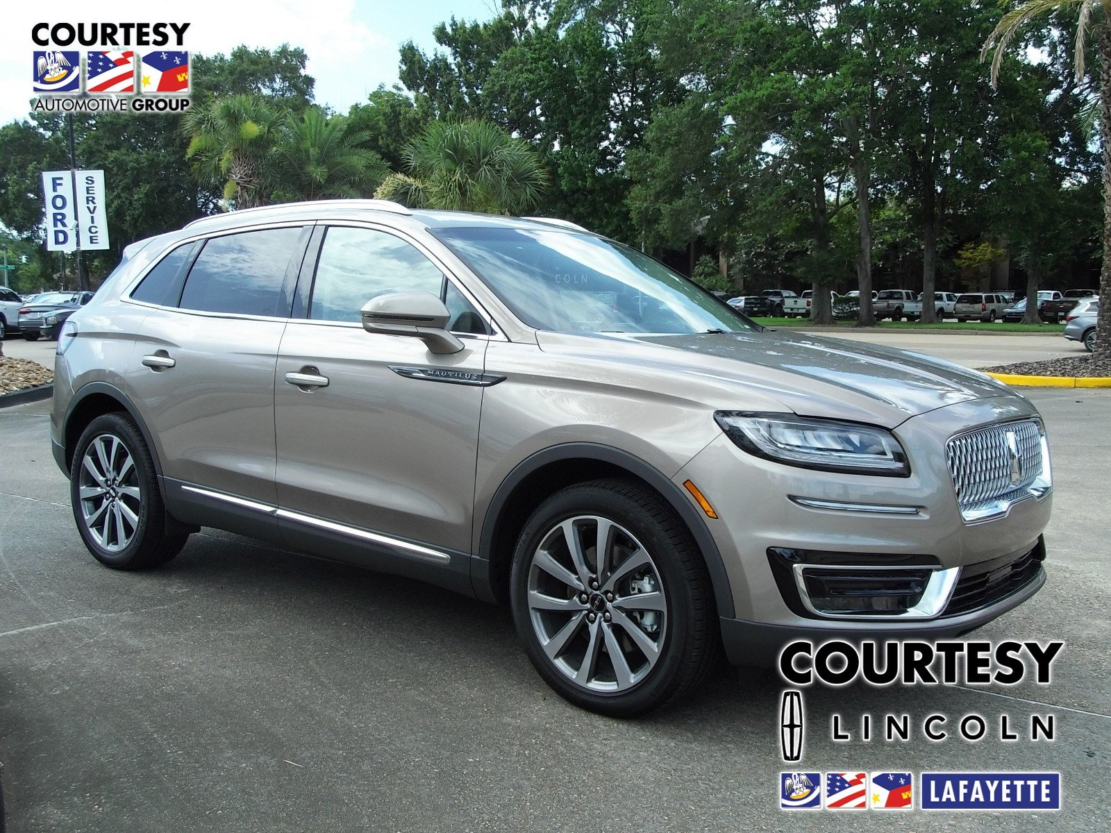 New 2019 Lincoln Nautilus For Sale at Courtesy Lincoln   VIN