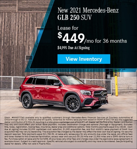 New 2021 Mercedes-Benz GLB 250 SUV