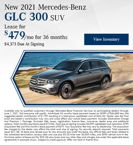 New 2021 Mercedes-Benz GLC 300 SUV