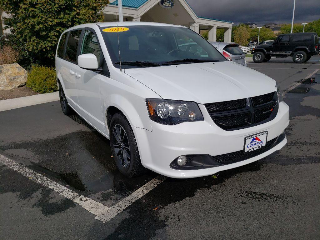 Featured used 2018 Dodge Grand Caravan SE Van; Extended 2C4RDGBG3JR221436 for sale in Pocatello, ID