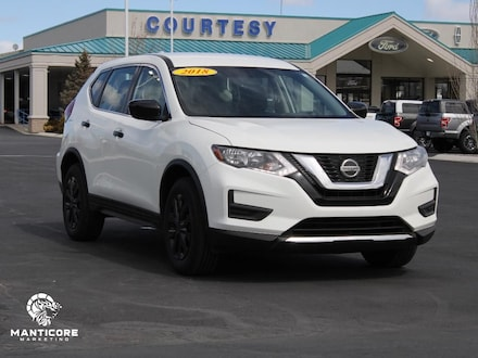 Featured used 2018 Nissan Rogue S AWD Wagon KNMAT2MV8JP550276 for sale in Pocatello, ID